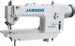 Jarhoo-0303D Big Hook Direct-Drive Integrated Walking Foot Top and Bottom Feed Lockstitch Sewing Machine