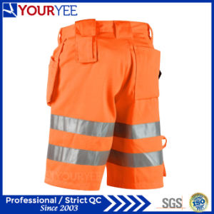 China Polyester Cotton High Visibility Cheap Work Shorts (YGK119 ...