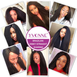 2016 Fashion Natural Brazilian Virgin Human Hair Extension pictures & photos