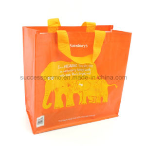 Custom PP Woven Laminated Bag, Tote Bag, Reusable Shopping Bag pictures & photos