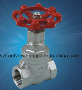 Precision Casting Screwed Gate Valve pictures & photos