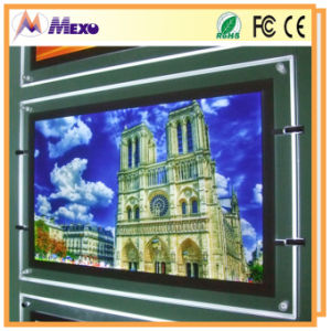 Slim Advertising LED Backlit Outdoor Poster Acrylic Signage pictures & photos