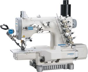 High Speed Bottom Hemming Cylinder-Bed Interlock Sewing Machine (JH-C858K)