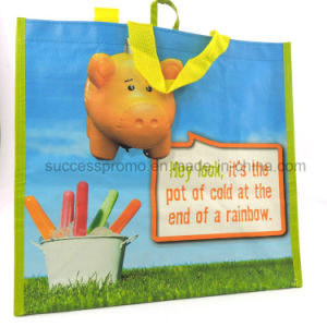 Non Woven Laminated Bag for Shopping, Eco-Friendly Tote Bag, Promotion Gift pictures & photos