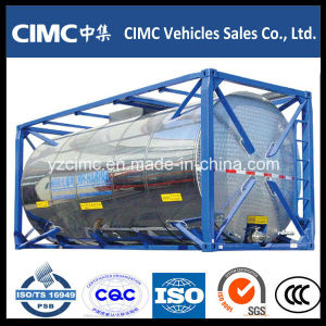 Cimc 40ft LPG ISO Tank Container pictures & photos