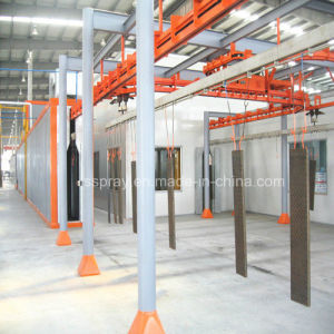 Vertical Powder Production Line for Steel Plate Aluminum Profile