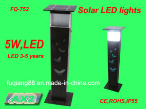 Fq-752 Solar Garden Light with Butterfly Hollow Design Solar Lawn Lamp Solar LED Light on Flower Bed pictures & photos