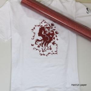 10 Colors Glitter Heat Transfer Vinyl for Garment/Sportswear/T-Shirt pictures & photos