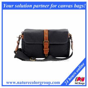 Fashion Black Canvas Camera Bag pictures & photos