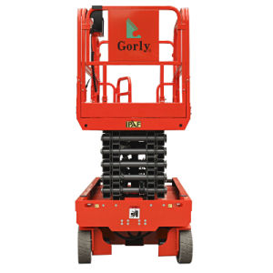 12m High Self-Propelled Scissor Lift with Ce Certificate