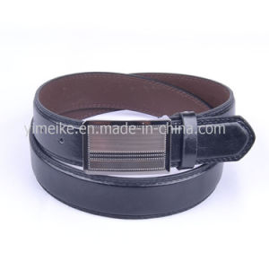High Quality Custom Business Black PU Leather Belt for Man pictures & photos
