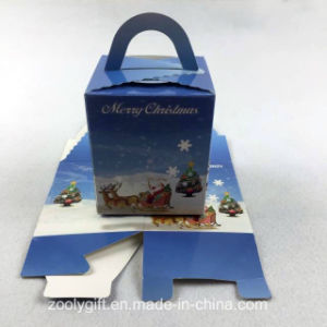 Die-Cut Folding Cardboard Paper Christmas Gift Packaging Box pictures & photos