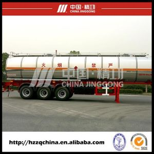 Heavy Tank Truck for Deliverying Chemical Liquid pictures & photos