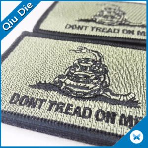 Special Design Shape Woven Labels for Garment Accessories pictures & photos