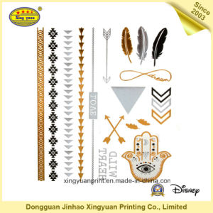 Temporary Tattoo Stickers for Celebration Party Holiday (JHXY-TT0012)