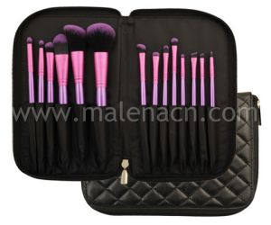 Beauty Cosmetics 14PCS Synthetic Makeup Brush Set with Bag pictures & photos