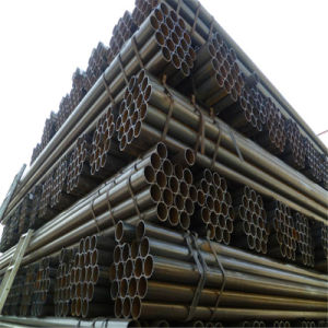 Excellent Round Black Annealed Steel Pipe pictures & photos