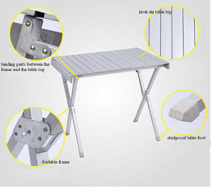 Aluminum Rolling Table (L) pictures & photos