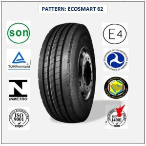 295/80r22.5 (ECOSMART 62) with Europe Certificate (ECE REACH LABEL) High Quality Truck & Bus Radial Tires pictures & photos