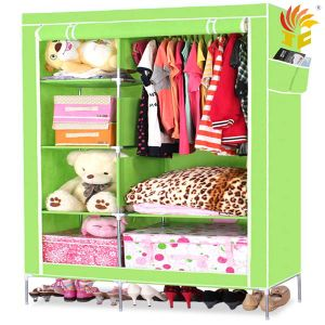 Portable Fabric Folding Wardrobe