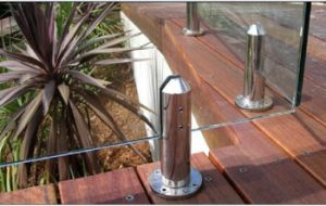 8-12mm Tempered Glass Balustrade Spigot Used for Swimming Pool and Fence (CR-A01) pictures & photos