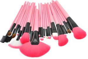 China Good Quality Makeup Brush Set with Pouch - China Makeup Set ...