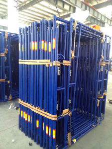 Walkthrough Frame Scaffolding Blue Powder Coated pictures & photos