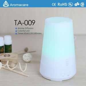 Aromacare Colorful LED 100ml Ultrasonic Aroma Diffuser Manufacturers (TA-009) pictures & photos