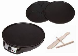 Crepe Maker and Pancake Maker, Electric Griddle Machine