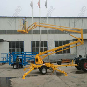Electric Lifting Platform Trailer Mounted Boom Lift Working Table pictures & photos
