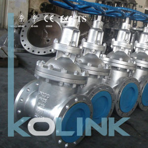Cast Steel Gate Valve Non-Rising Stem pictures & photos