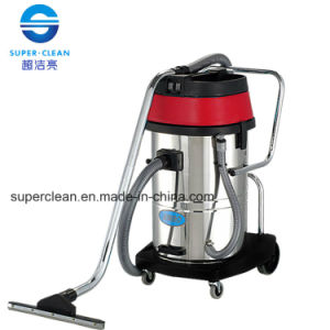 Kimbo 60L Stainless Steel Wet and Dry Vacuum Cleaner with Tilt pictures & photos