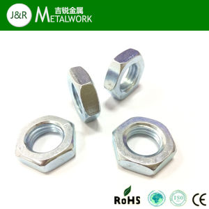 Carbon Steel Hex Thin Nut pictures & photos