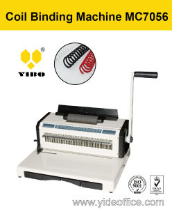 56 Holes FC Size Coil Binding Machine (MC7056) pictures & photos