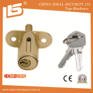 Zinc Furniture & Desk & Cabinet Drawer Lock (CM-200L) pictures & photos