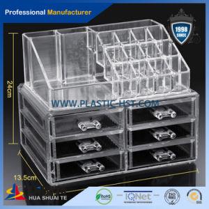 2016 Transparent Plastic 6 Drawer Acrylic Makeup Organizer pictures & photos