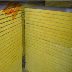 Glass Wool Acoustic Panels Fiberglass Wool Insulation Board pictures & photos