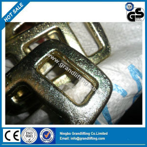 6000kg Yellow Zinc Hot Drop Forged Lashing Buckle pictures & photos