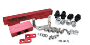 Billet Rotary Fuel Rail Kit Suit Series 4 & 5