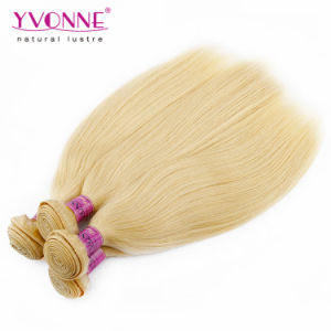 Blond Color Peruvian Remy Human Hair with Factory Price pictures & photos