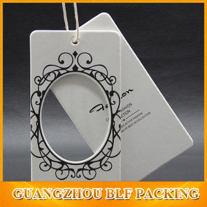 Custom Paper Hang Tags for Clothing (BLF-T093) pictures & photos