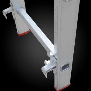 2 Section Multi-Purpose Extension Aluminum Step Ladder pictures & photos