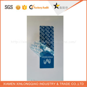 Label Printing Custom Security Anti-Fake Tamper Evident Void Sticker pictures & photos