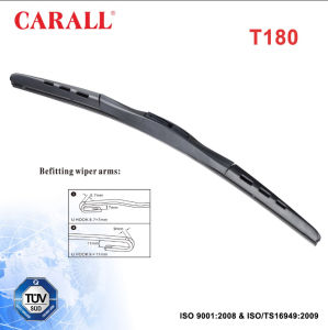 Hybrid Windshield Wiper Blade T180 pictures & photos