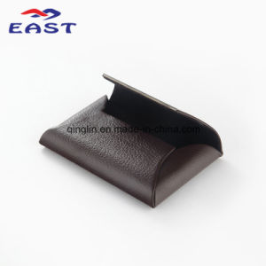 Wholesale PU Metal Business Card Case with Custom Logo pictures & photos