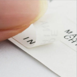 Made in China Sticker Paper Self Adhesive Label pictures & photos