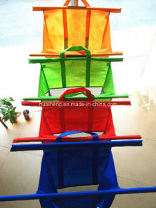 Trolley Bags Shopping Bag 4 Large Reusable Supermarket Cart Bags pictures & photos