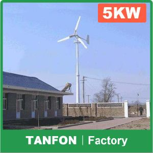 500W, 1kw, 2kw, 3kw, 5kw, 6kw, 8kw, 10kw, 15kw, 20kw Wind Turbine System, Wind Power Generator, Windmill Generator pictures & photos