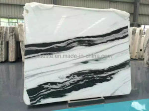 Polished White/Beige/Black Stone Marble for Floor Tile Slab pictures & photos