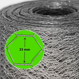 Hot Sales Mesh 1 Inch Galvanised Hexagonal Wire Mesh pictures & photos